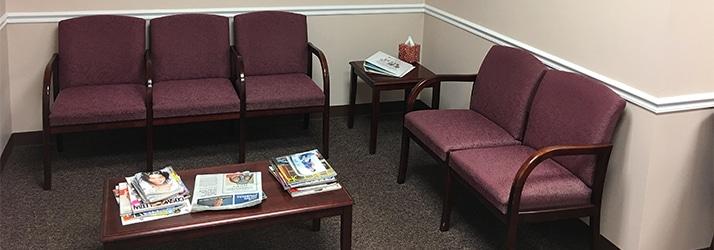 Chiropractic Middletown DE Waiting Area